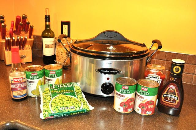 Place all ingredients in your slow cooker and stir well. Description from mymerrymessylife.com. I searched for this on bing.com/images