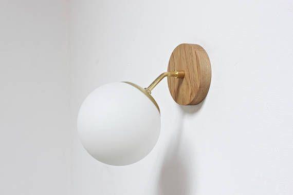 brass lamp, mid century lighting, bathroom lighting, wall lamp, plug in wall lamp