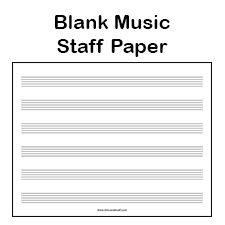 Music Staff Paper Template 100 Best PRINTABLES Images On Pinterest Free  Printable Free 88