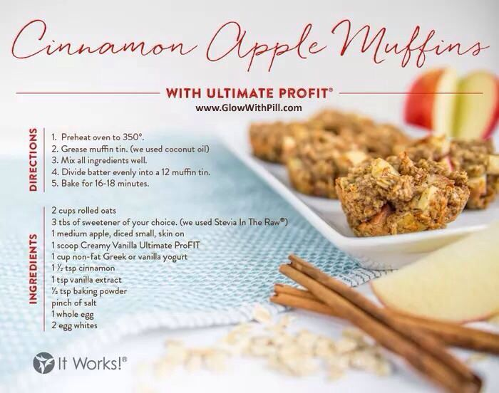 25 best Protein Shake Recipes with It Works ProFIT images on - profit & loss template free