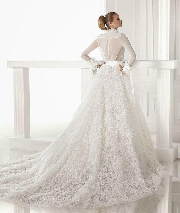 10 vestidos de novia manga larga 2015 | Boda   – NOVIAS – #boda #de #larga #mang…