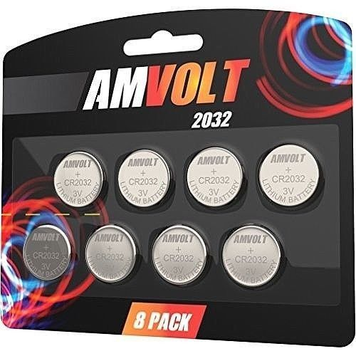 Button Batteries 2032 CR2032 3V Coin for/Toys/Watches/Calculators/Watch {8Pack} #DealsToday