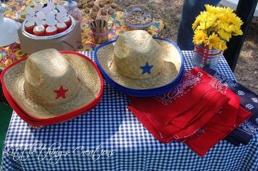 Cowboy/Cowgirl, Toy Story, Woody and Jessie / Birthday