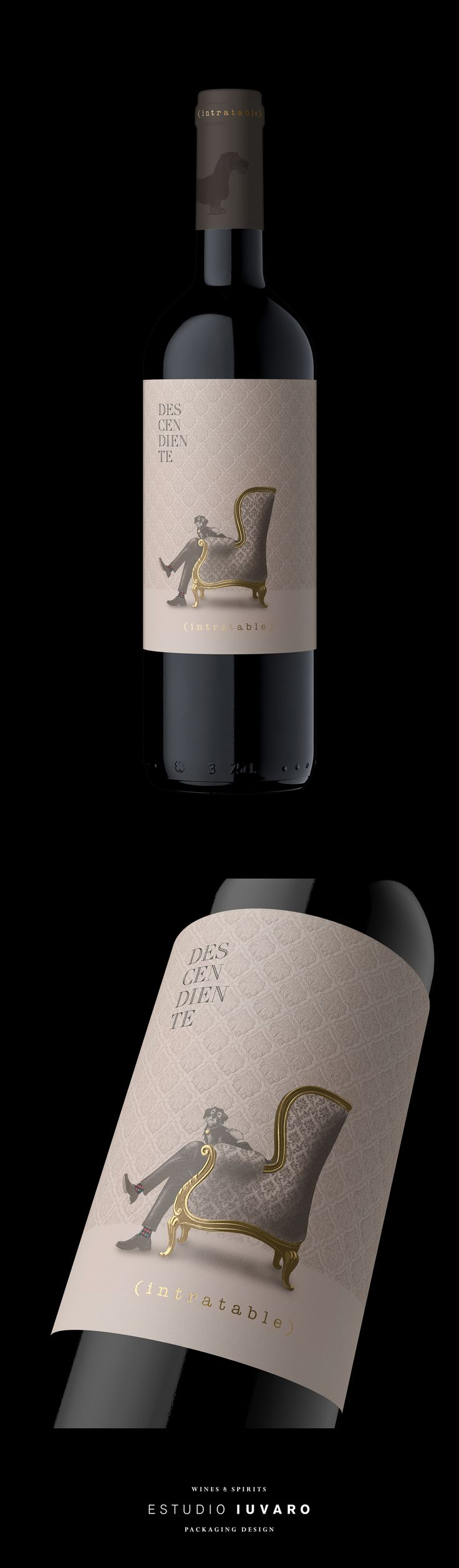 DESCENDIENTE INTRATABLE Terracota Wineland on Behance