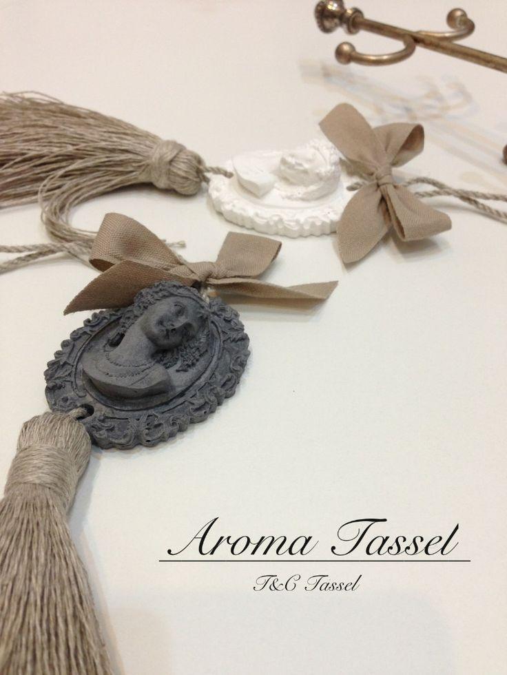 Fragrance tassel(Cameo) の画像|タッセルとフルーツ・ベジタブル&ソープカービングのお教室