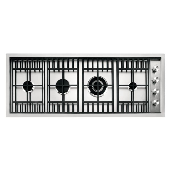 120 cm Lab flush and built-in hob 3 gas burners + triple ring