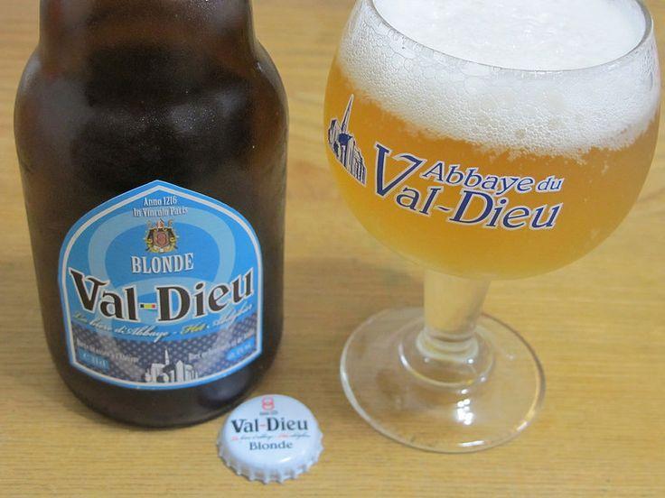 Val-Dieu Blonde e33cl Alc.6,0%Vol. Brasserie de l'Abbaye du Val-Dieu Val-Dieu 225, B-4880 Aubel www.val-dieu.com