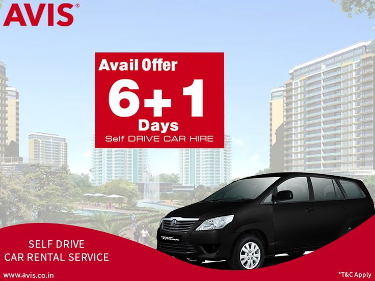 Self-drive car rental service is suitable for those going on a long journey or someone who has moved to another town for quite some time. This option gives someone the flexibility to plan schedules as per his or her suitability. AVIS India, India's finest car rental company provides self-drive cars with amazing offers. If you book a car for six days, you get the seventh day's service completely free of cost. Choose the car of your choice from well-maintained Toyota Innova or Toyota Etios.