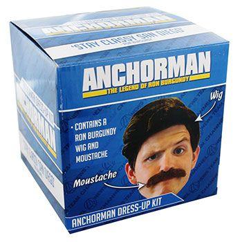 Anchorman Ron Burgundy Dress Up Kit