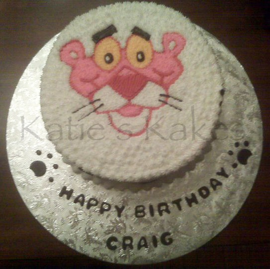 1000+ images about Cakes - Pink Panther on Pinterest