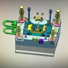 Plastic injection mold design for free after mold order is confirmed