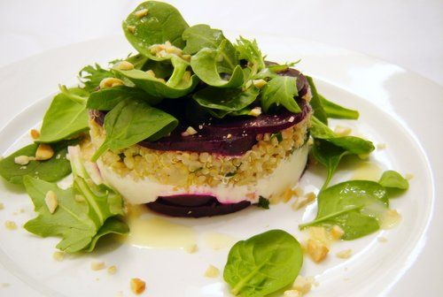 roasted baby beet, labneh and quinoa salad: Baby Beets, Roasted Baby, Chief