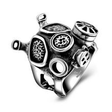 Doctor Who Macchine Punk Cranio Dr Who Daleks Apocalypse Gas Mask Anello…
