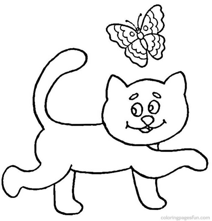 Cats Coloring Page 81 Is A From BookLet Your Children Express Their Imagination When They Color The