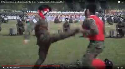 Video imponente de lo que fue la celebración del día de las Fuerzas Armadas de Corea del Sur