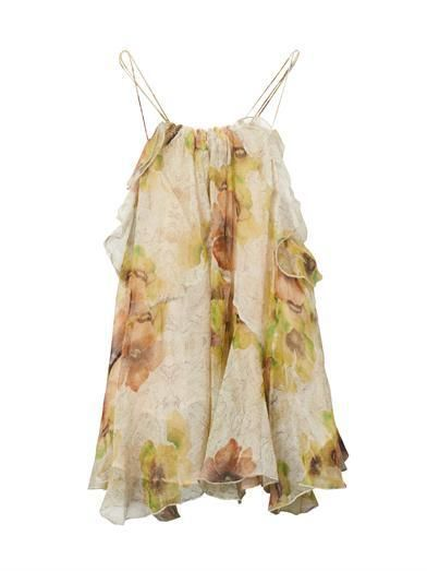 Isabel Marant, Riley Floral Print Silk Top, Original, Authentic, Half Price
