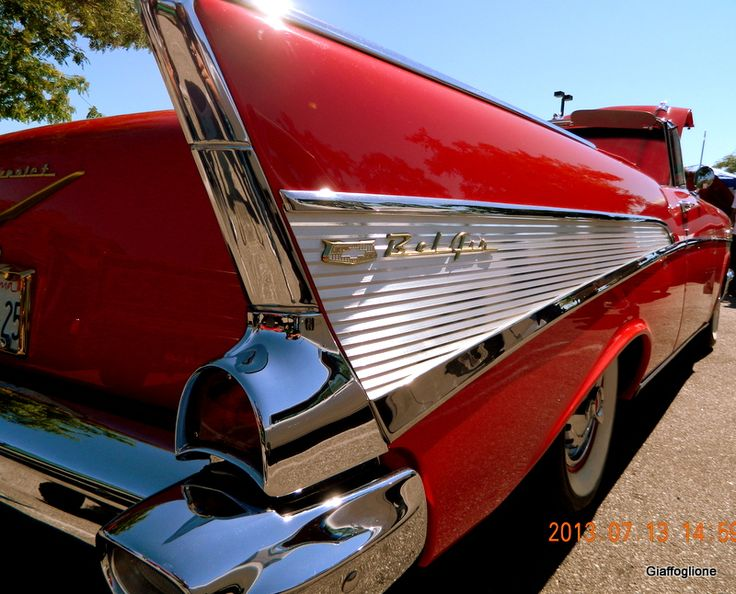 1957 Chevy Bel Air Convertible ~ Pic Taken At The Simi Valley Car Show Jul  13