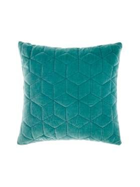 CUSHION KEW 45X45CM TEAL CUSHIONS ONLINE