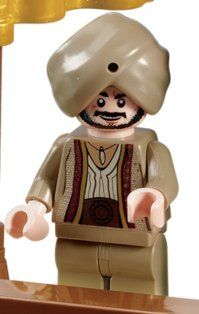 Sheik Amar - Lego Prince of Persia Minifigure by LEGO. $0.50. Minifigure head has two expressions.. This is a special minifigure exclusive to retired Prince of Persia LEGO sets #7570 - The Ostrich Race!. This minifigure is 1 3/4 inches tall.. This is a special minifigure exclusive to retired Prince of Persia LEGO sets #7570 - The Ostrich Race! This minifigure is 1 3/4 inches tall.  Minifigure head has two expressions.