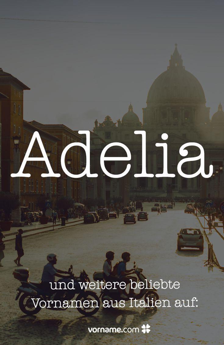 Beliebte Vornamen Italien