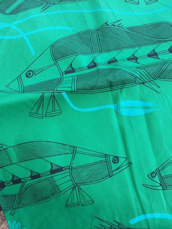 Djenj Fish by Isaiah Nagurrgurrba SALE by InjalakArts on Etsy