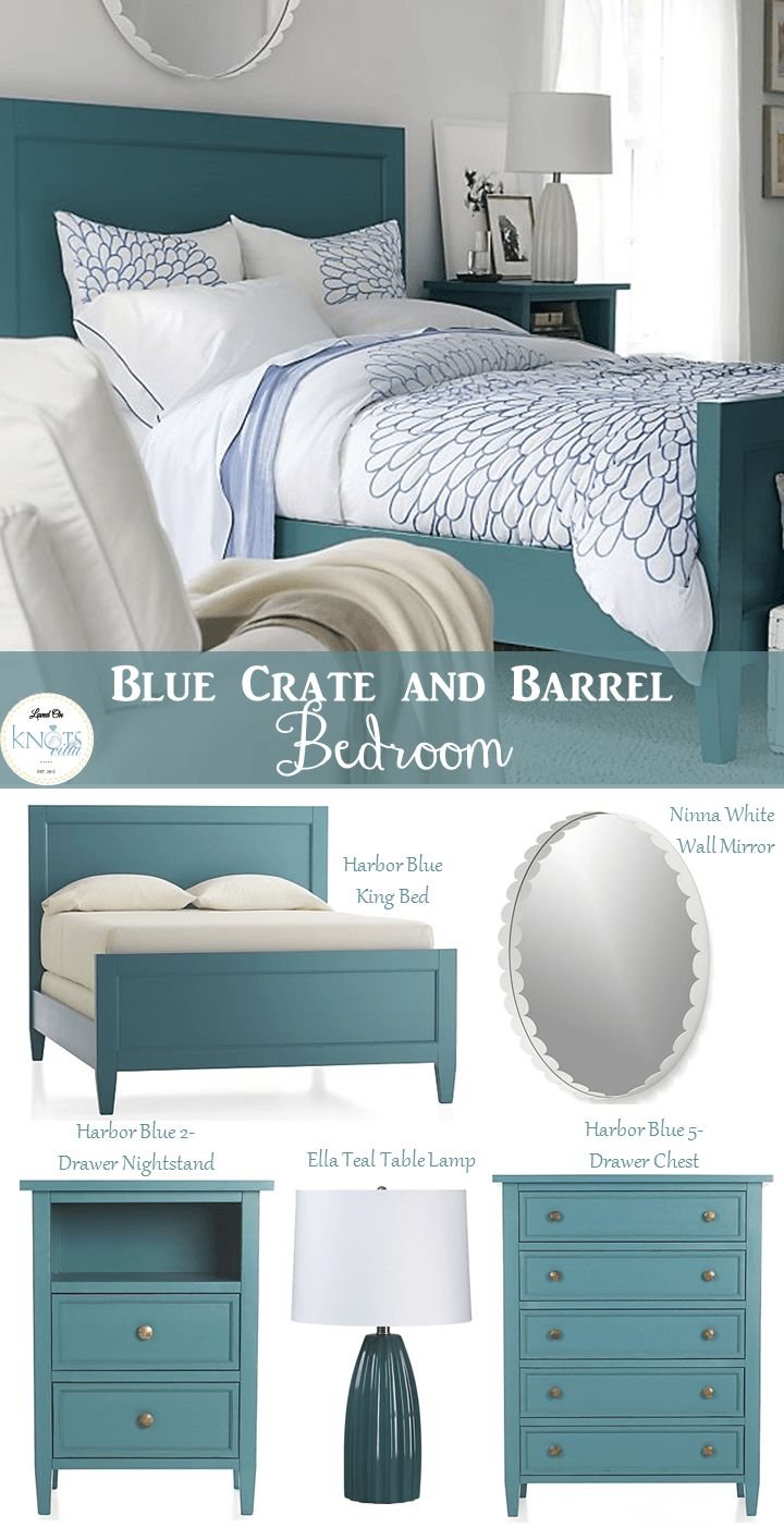 Stylish Bedroom Inspiration With Crate and Barrel