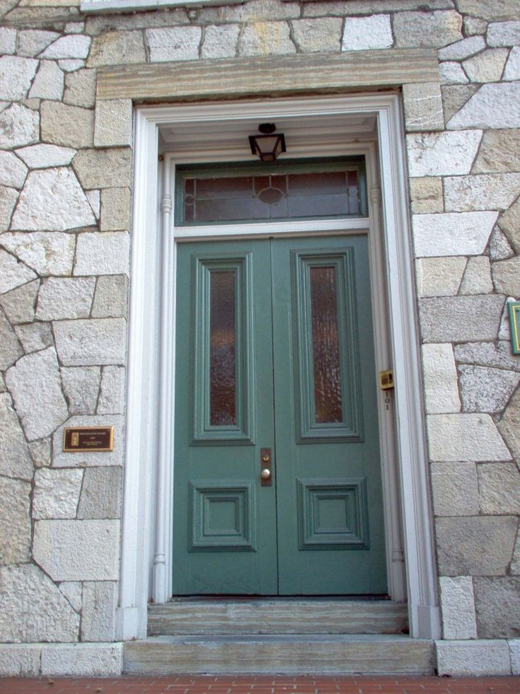 Like the colour of this Teal front door
