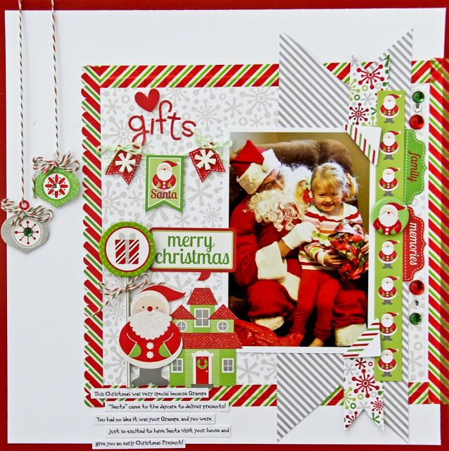 78 best images about doodlebug design home for the for Christmas layout ideas