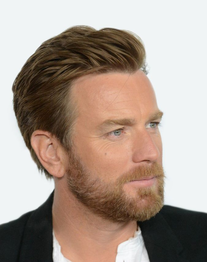 side swept ewan mcgregor beard
