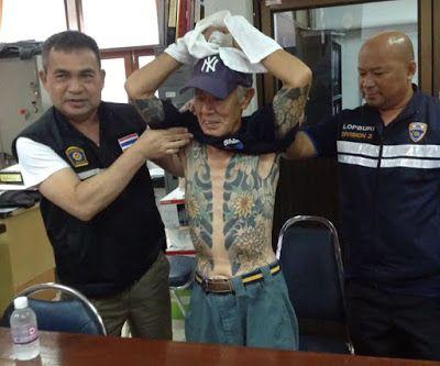 Japan - It's A Wonderful Rife: Japanese Yakuza Boss Arrested Because Of His Tatto...