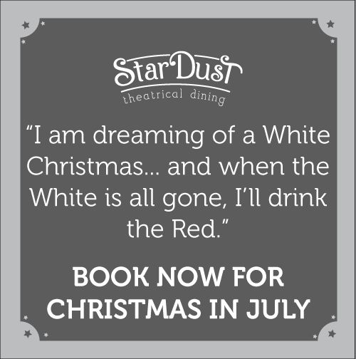 funny xmas in july stardust