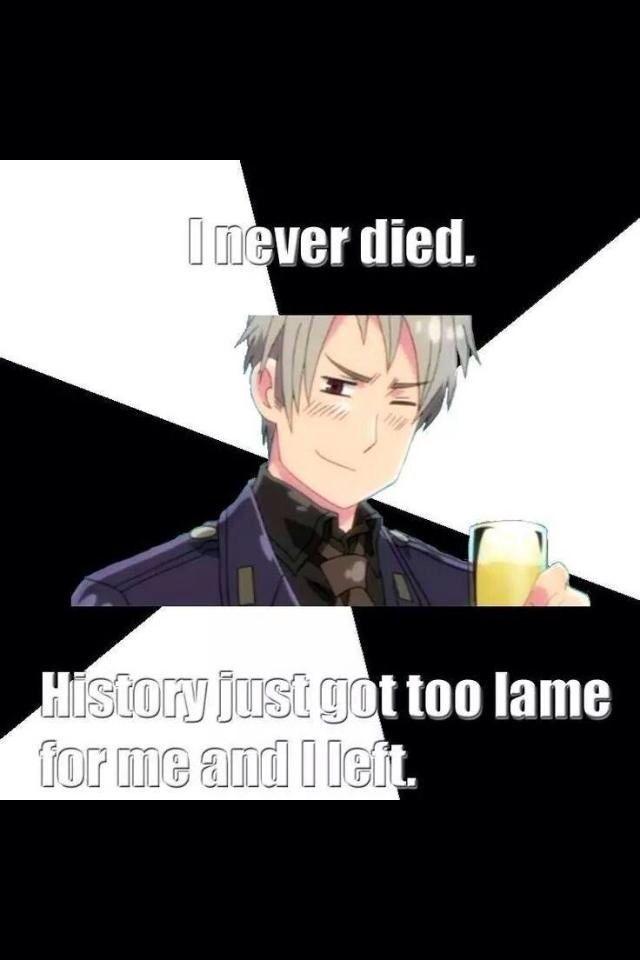 Poor Prussia.. (Hetalia)