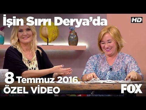 Nurgün Tezcan'dan bebek hırkası örneği...İşin Sırrı Derya'da 8 Temmuz 2016 - YouTube