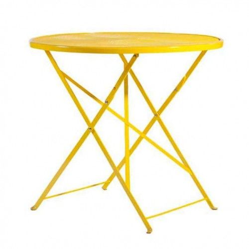 Botanical Table - Yellow