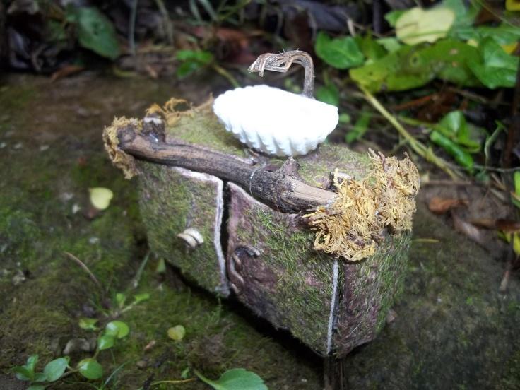 OOAK Fairy House Sink   Dollhouse Furniture   EBay