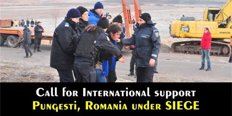 PLEASE SIGN THIS PETITION! STOP Chevron and the Police abuse in PUNGESTI, Romania- Call for International support – December, 2nd, 2013 / Addressed to The European Parliament, The European Commission, to The Subcommittee on Human Rights of the European Parliament and to all #humanrigts NGOs that can monitor and act NOW on this attack…