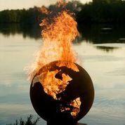 Best 25 Wood Burning Fire Pit Ideas On Pinterest Diy
