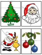 Printable Christmas Puzzles (FREE)