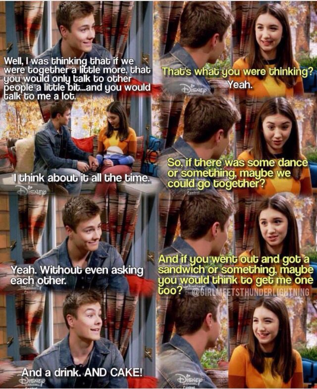 "#GirlMeetsWorld ""Girl Meets Ski Lodge"" (Lucas chose Riley, they're going to try being boyfriend and girlfriend)"