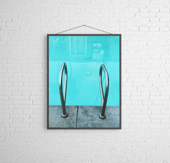 A very mid century vacation. mid century swimming pool...mid century hotel. The first image shows this vertically oriented photograph,