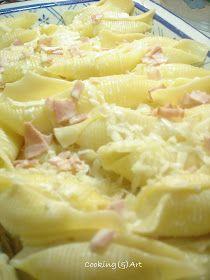 Μαγειρική(&)Τέχνη!: Κοχύλια γεμιστά με τυριά !