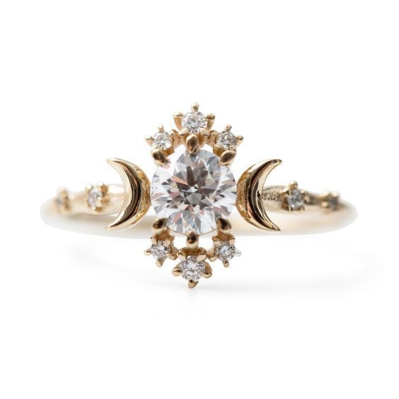 Wandering Star Ring by Morphe Jewelry