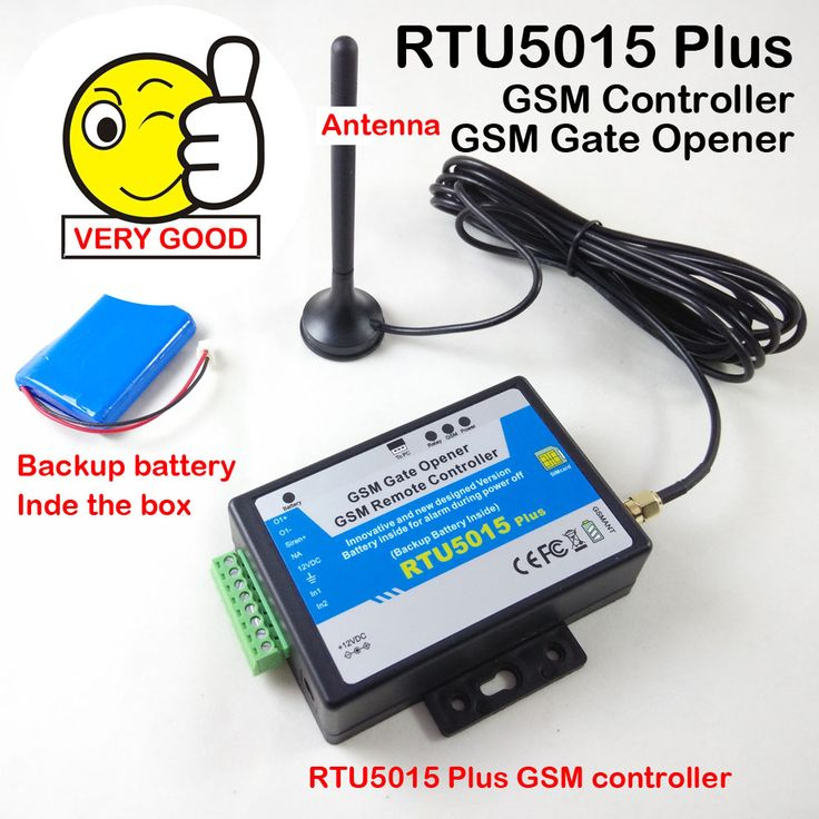 GSM Gate Opener Switch Remote Access Control Garage Door Opener Upgraded Battery RTU5024 to RTU5015Plus with app #shoes, #jewelry, #women, #men, #hats, #watches, #belts