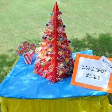 Lollipop Tree -- a traditional carnival game for your kids carnival!
