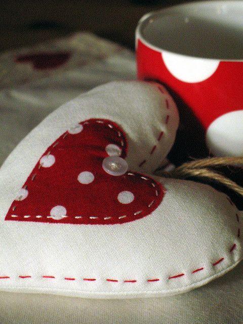 Polka-dot heart | Flickr: Intercambio de fotos