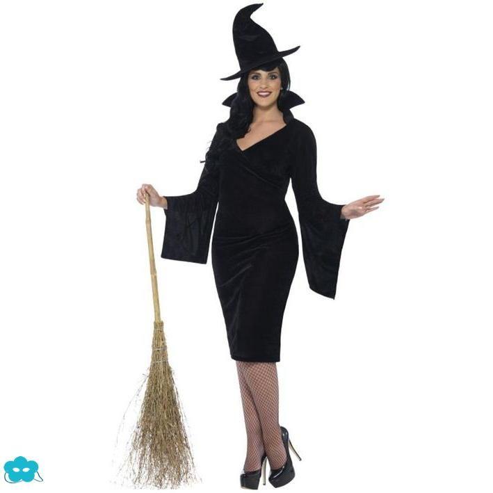 Disfraz de bruja talla grande para mujer