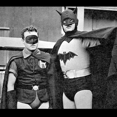 Batman is a 15-chapter serial released in 1943 by Columbia Pictures. The serial starred Lewis Wilson as Batman and Douglas Croft as Robin. J. Carrol Naish played the villain an original character named Dr. Daka. Rounding out the cast were Shirley Patterson as Linda Page (Bruce Wayne's love interest) and William Austin as Alfred the butler. The plot involved Batmanas a U.S. government agentattempting to defeat the Japanese agent Dr. Daka at the height of World War II. #batman #tbt