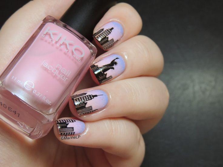 592 best nail art nails inspirations images on pinterest nailstorming destination de rve un jour jirai new york avec toi prinsesfo Image collections