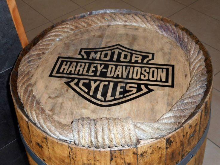 Tonneau Harley Davidson  (de Tikisquare)