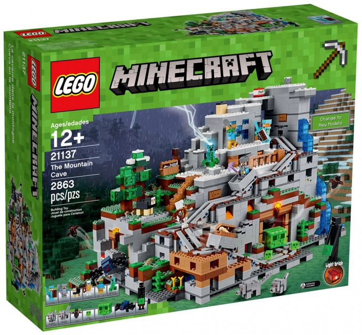 LEGO Minecraft 21137 : The Montain Cave - Juillet 2017